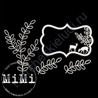 Набор чипборда Лес, коллекция Природа, размер 7.5х10 см