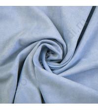 Искусственная замша двусторонняя, плотность 310 г/м2, размер 50х75 см (+/- 2см), цвет небесный голубой