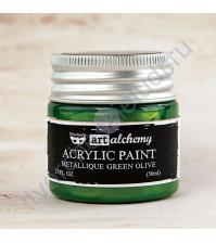 Краска акриловая Adirondack® Dabbers на водной основе, флакон с аппликатором емкостью 29 мл, цвет зеленый латук